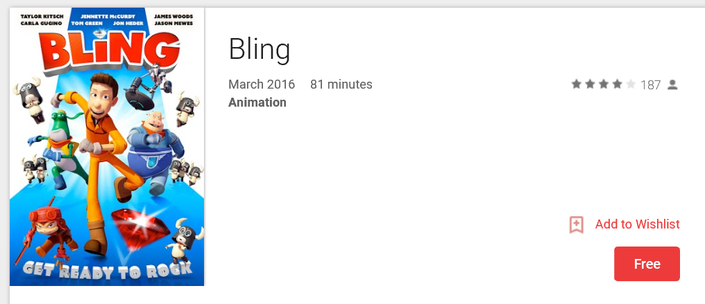 bling movie for free