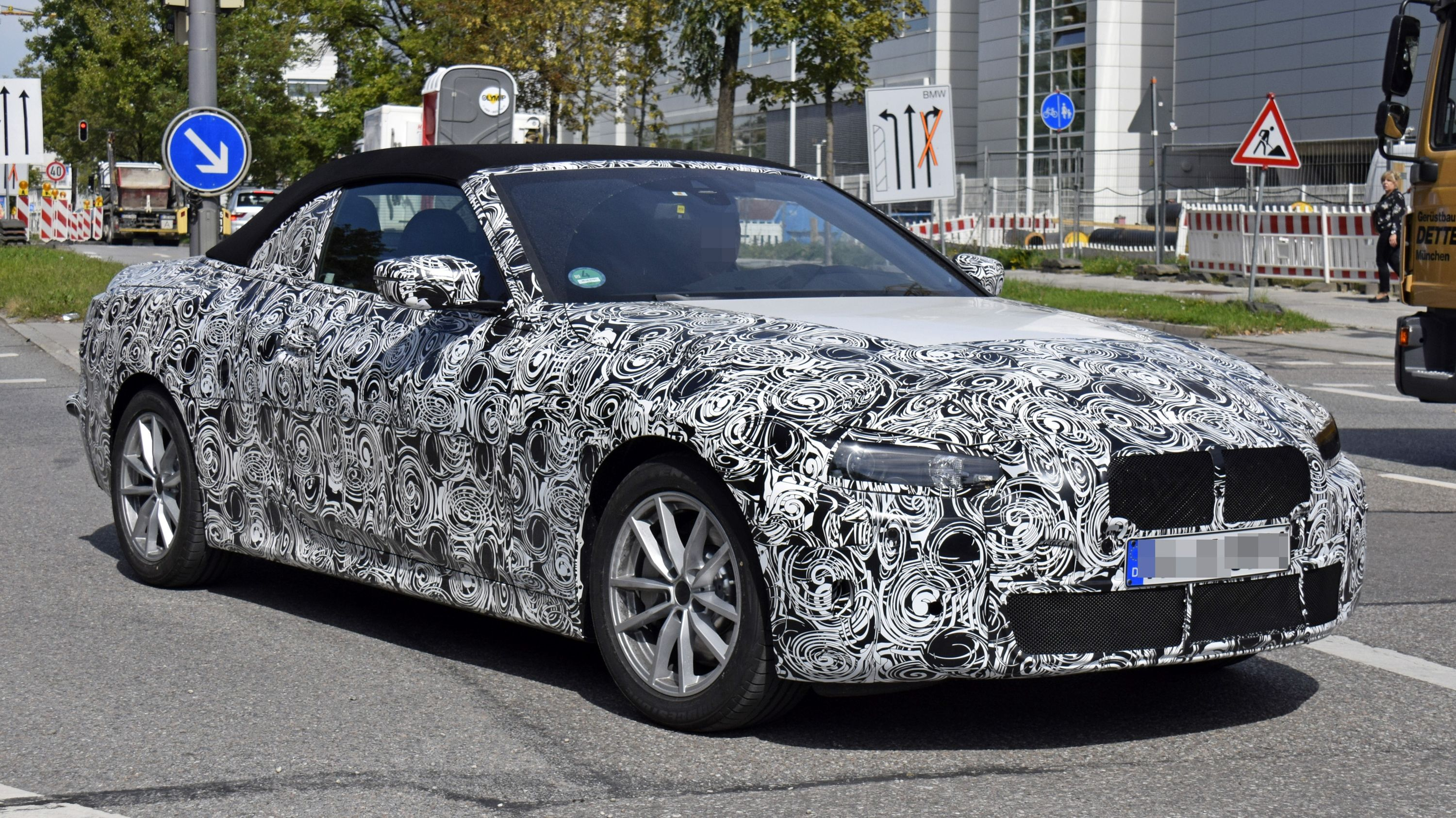 2021 Bmw 4 Series Convertible Spy Shots And Speculative Review