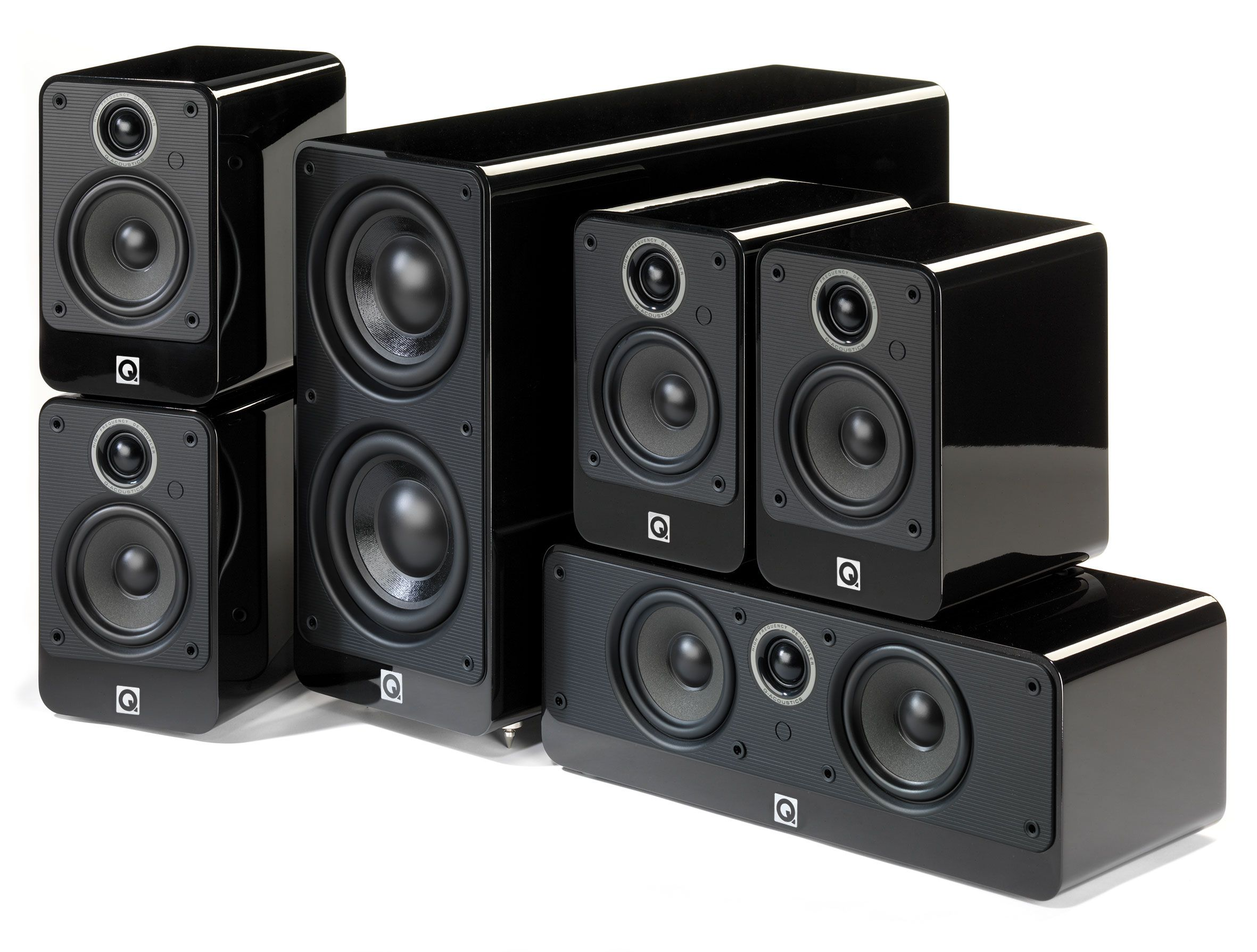 The Q Acoustics 2000i series 5.1 Home Cinema Speaker
