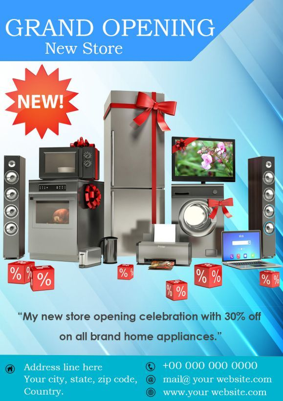 Grand Opening of New Store Flyer Coming soon Flyers Pinterest