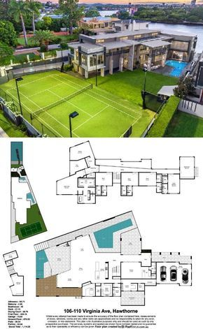 Contemporary Style Waterfront Mansion In Queensland Australia Model House Plan House Plans Mansion Mansions