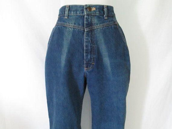 63d3f633ef 80's Lee Jeans High Waist Jeans 80's Mom Jeans Yoke Front Jeans ...