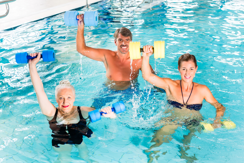 How To Teach Water Aerobics Water Aerobics Aerobics Classes Aerobics