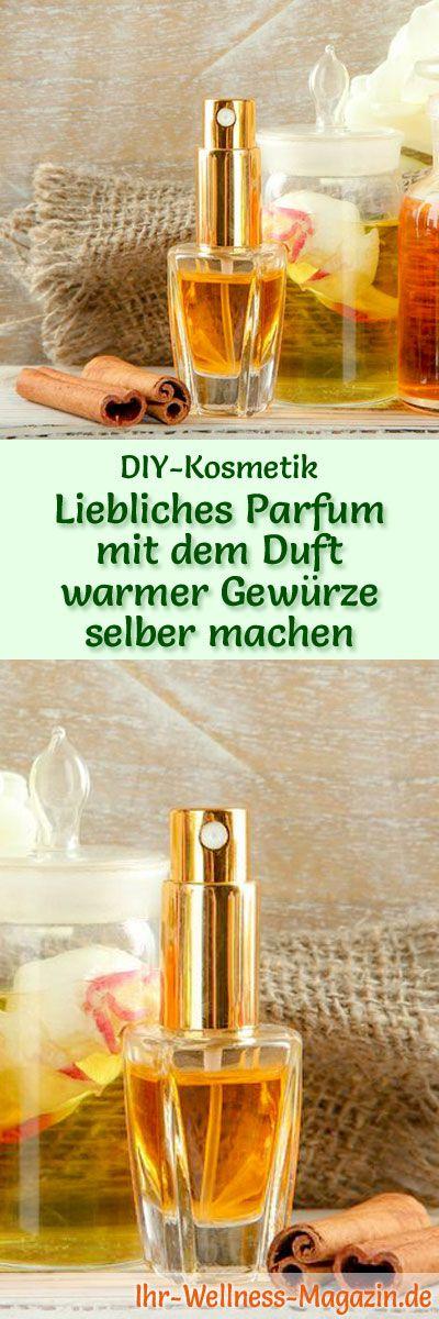 Parfum Rezept: Feminines liebliches Parfum mit dem Duft warmer Gewürze