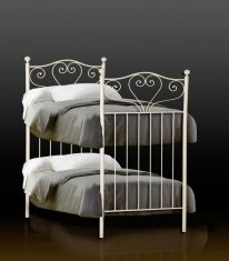 lits superpos s en fer forg mod le sandra lits superpos s pinterest lit superpos. Black Bedroom Furniture Sets. Home Design Ideas