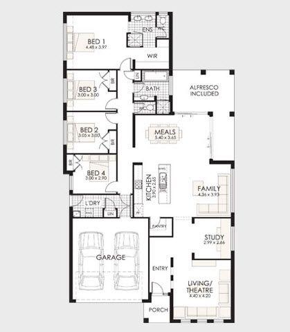 Planos de casas de un piso fachadas y planos de planta
