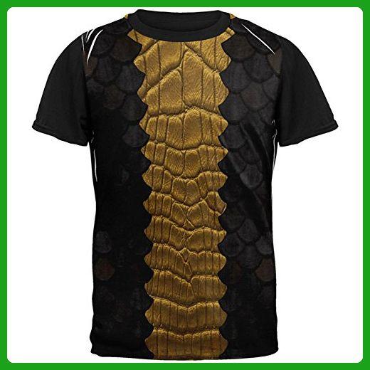 825590fac73678 Halloween Black Dragon Costume All Over Mens Black Back T Shirt Multi LG -  Holiday and seasonal shirts (*Amazon Partner-Link)