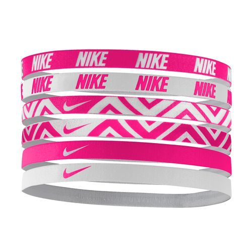 Nike Women s Printed Headbands 6-Pack (Blue Bright ab545e544df