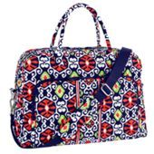 I would love a Weekender by Vera Bradley. I'm up for any pattern as long as it's not heavy on lavender! Plus they have cute ones at the outlets!