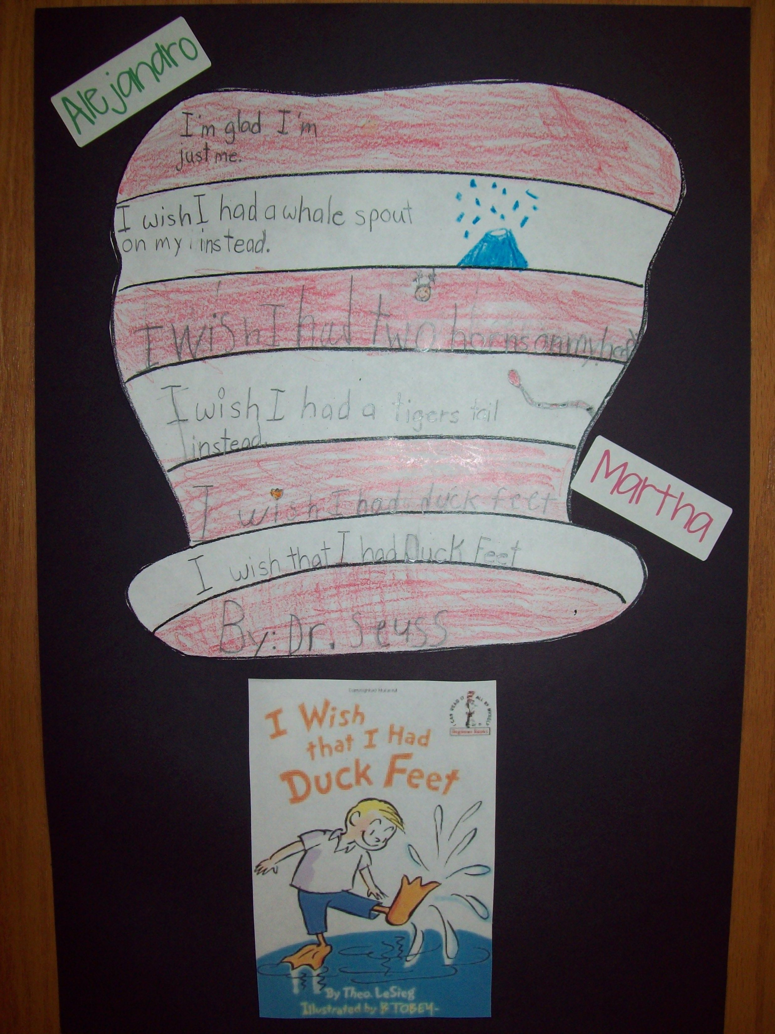 Sequencing With Dr Seuss