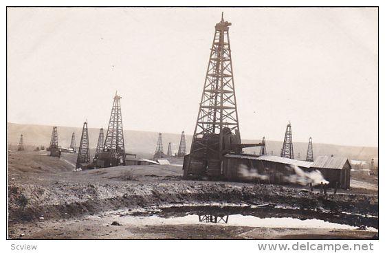 RP: Oil Center, Kern River Oil Fields near Bakersfield
