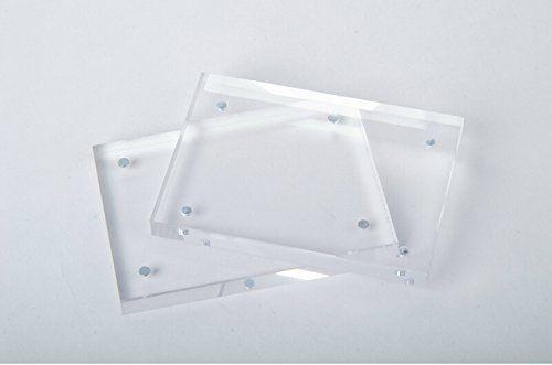 Original Magnet Acrylic Photo Frame Picture Frame (8\