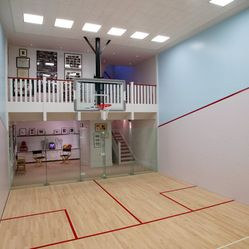 Squash Court Design Ideas Pictures Remodel And Decor Home Gym Design Indoor Basketball Court Indoor Sports Court