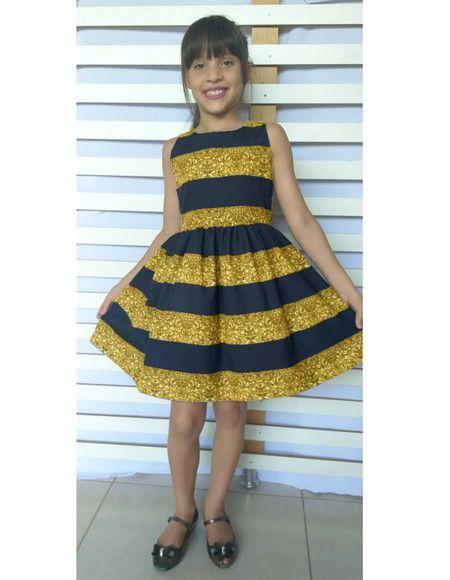 Vestido Lol Queen Bee Fantasia 8 10 12 Anos De R 183 50 Por R 161 90 Vestidos Infantis Vestidos Vestidos Estampados