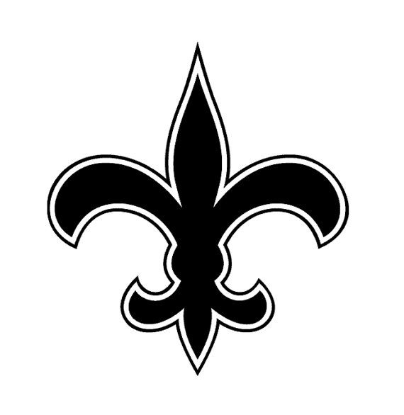 New Orleans Saints Decal Nfl History New Orleans Saints Vinyl Artwork