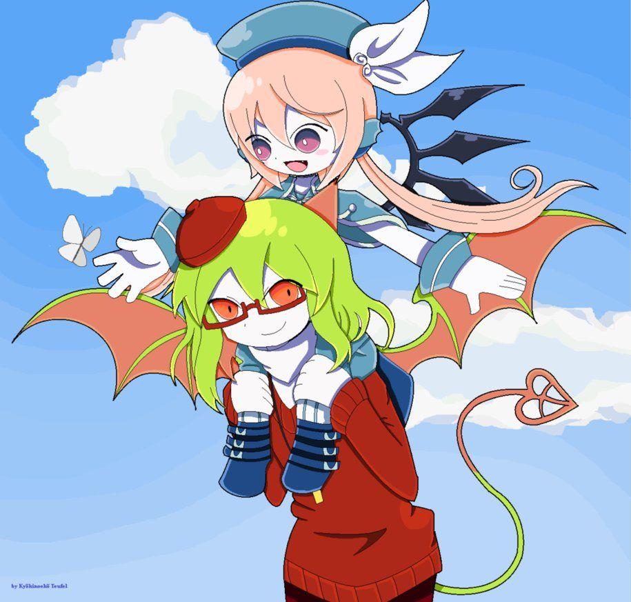 Yosafire and Efina by Kyokinoeko.deviantart.com on @DeviantArt