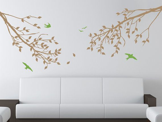 This is a beautiful modern tree branch wall decal set that is easy to apply and will brighten any room, especially a family room, bedroom, office, baby nursery, baby's room, kid's room, children's room, or playroom.    Each order comes with an application squeegee and practice decal to make sure that decals stick to your wall and to give you practice applying decals.    This decal is designed by The Decal Lab. Check out our other wall decals and more at http://decallab.etsy.com