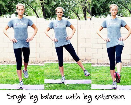 Image result for single leg balance drill
