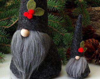 Christmas Gnomes Pinterest.Lore La Peculiar Bosque Gnome 5 5 De Altura Por