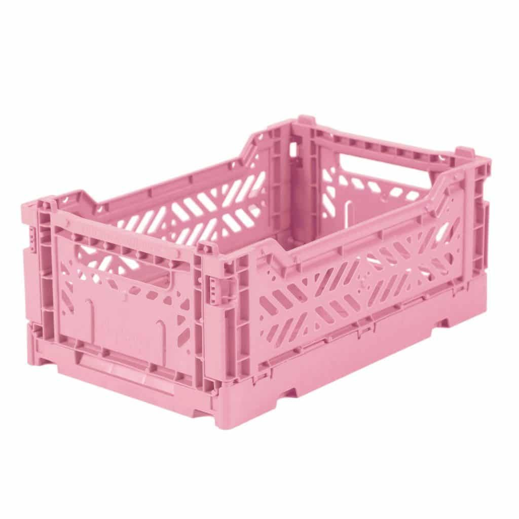 Eef Lillemor Cagette En Plastique Recycle Rose Aufbewahrungskisten Kiste Aufbewahrung