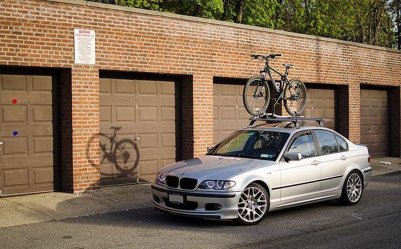 Which Bike Rack On Oem Roof Rack Roof Rack Bike Rack Bmw Cars