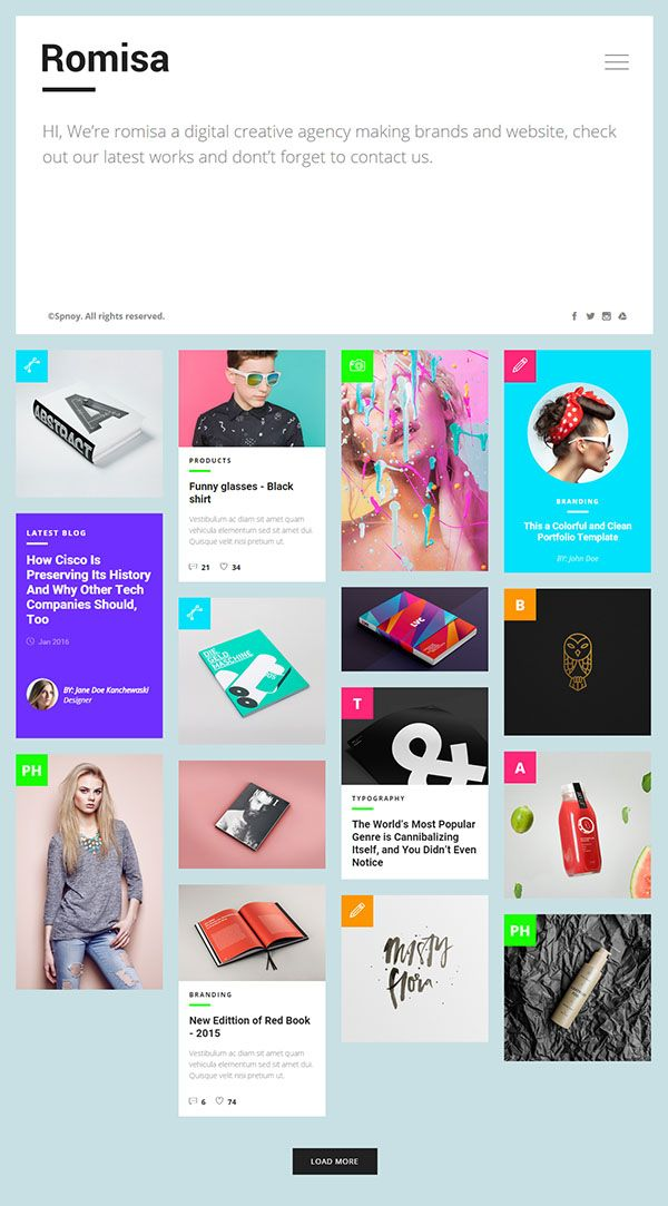 romisa portfolio showcase html template html5websites