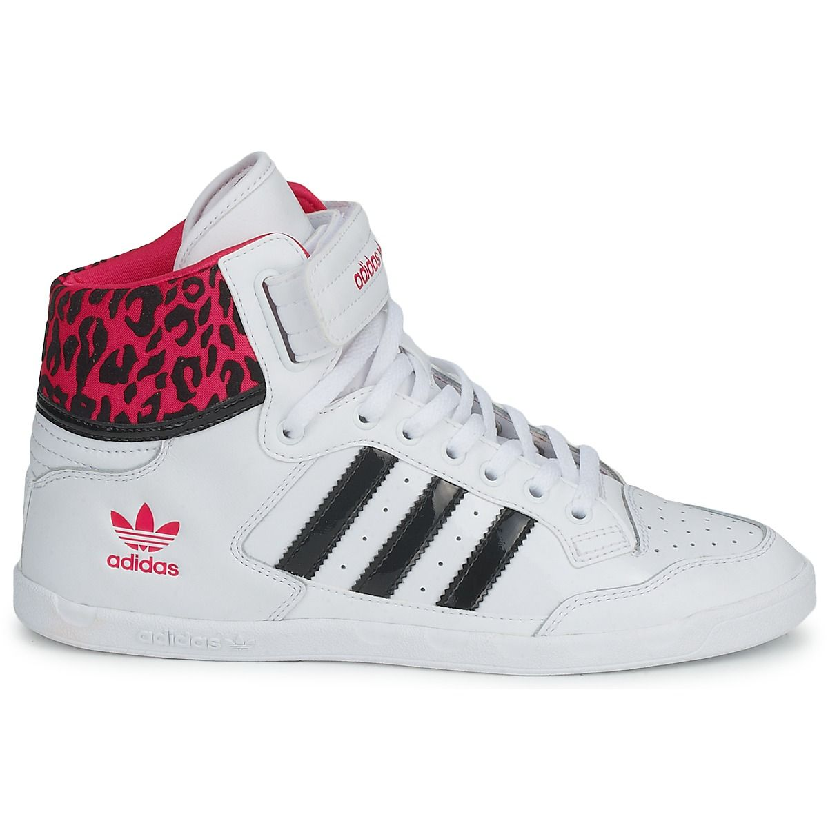 white adidas shoes high tops wwwimgkidcom the image