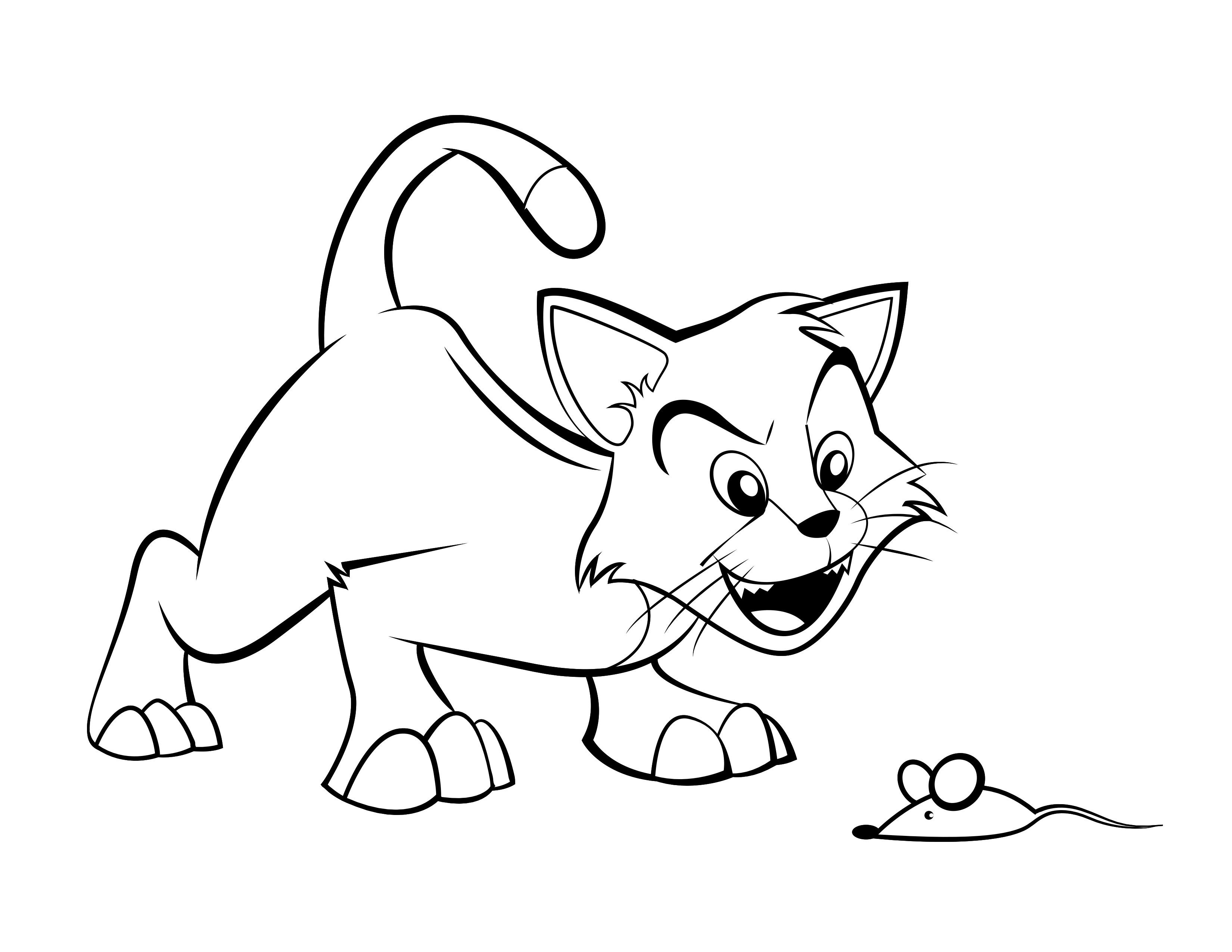 Cartoon Cat Coloring Pages Through The Thousand Photographs On The Web About Cartoon Cat Colorin Animal Coloring Pages Cat Coloring Page Puppy Coloring Pages