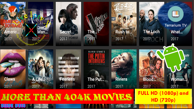 ANDROID MOVIES APK Best Free 1080p HD Movies and TV Shows ON