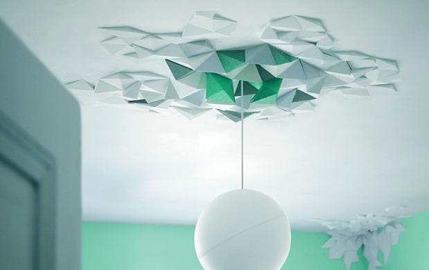 die wand inszenieren mit stuck co moderner stuck rhombus