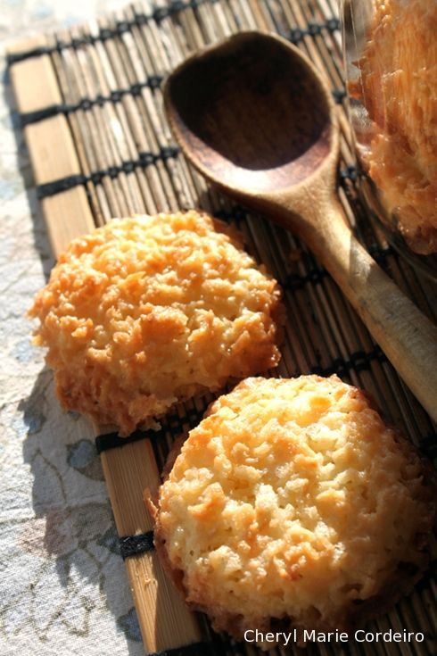 Coconut Cookies Recipe (Cheryl Marie Cordeiro)