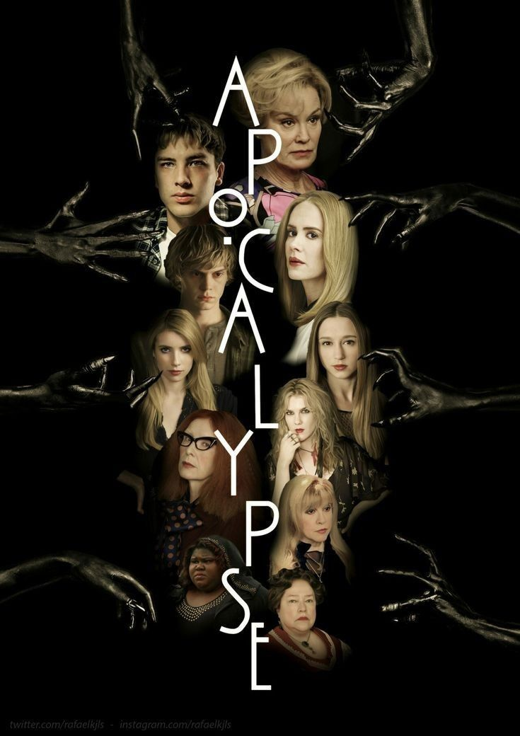 Ahs American Horror Story Apocalypse Season 8 Collage Ahs