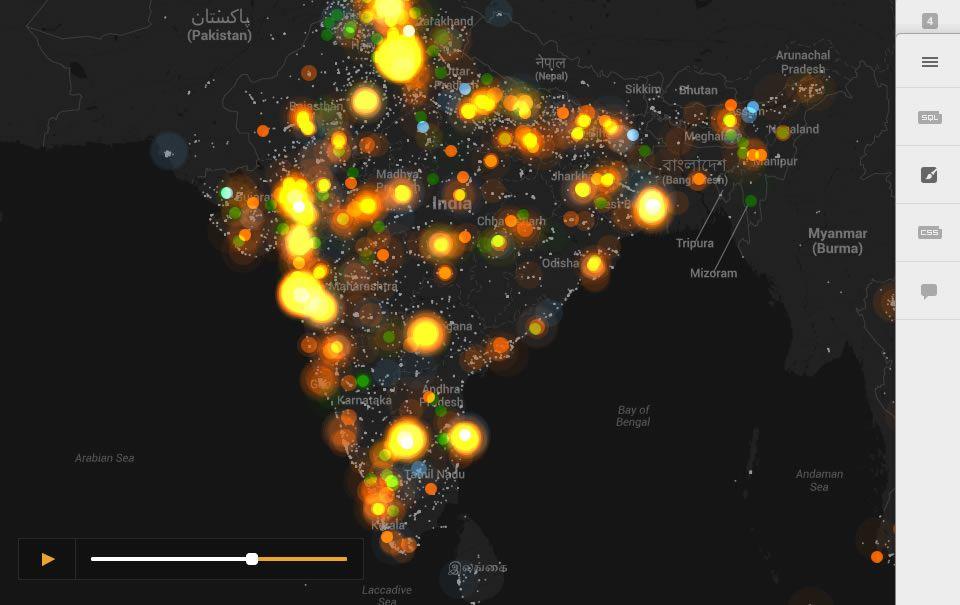Create amazing maps with your data — CartoDB