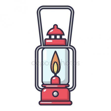Icono De La Lampara De Gas Estilo De Dibujos Animados Ilustracion De Stock Ilustraciones De Dibujos Animados Ilustracion Vectorial Estilos De Dibujo