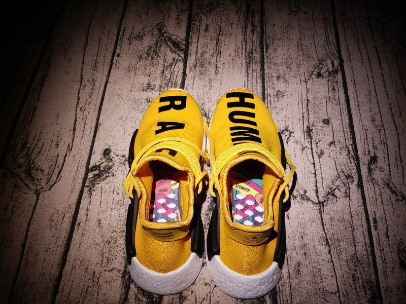adidas nmd pharrell hu razza umana giallo bb0619 scarpe pinterest