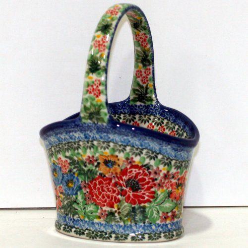 Small Oval Basket by Teresa Liana in decoration U4005