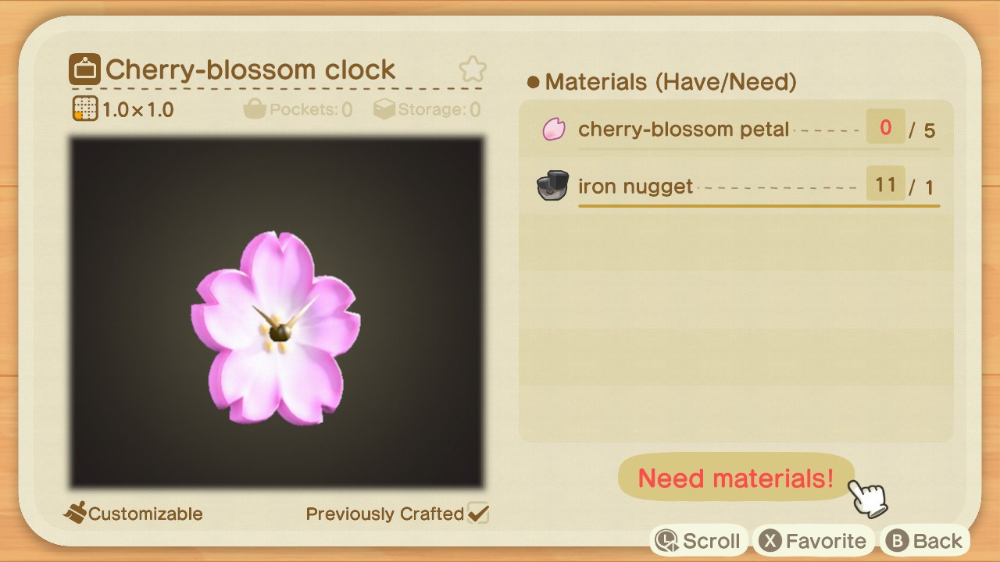 All The Animal Crossing New Horizons Cherry Blossom Recipes Available And How To Craft Them Cherry Blossom Petals Animal Crossing Cherry Blossom