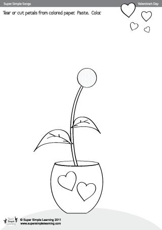 My flower is Orange Worksheet - Twisty Noodle