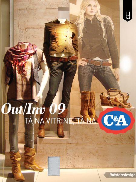 Projeto de Vitrine Outono / Inverno para a C&A em toda a rede (Brasil). Clique no link e conheça melhor esse projeto: http://goo.gl/LL5Kay #vitrine #vitrina #shopwindow #storewindow #retailwindow #varejo #loja #hdsd
