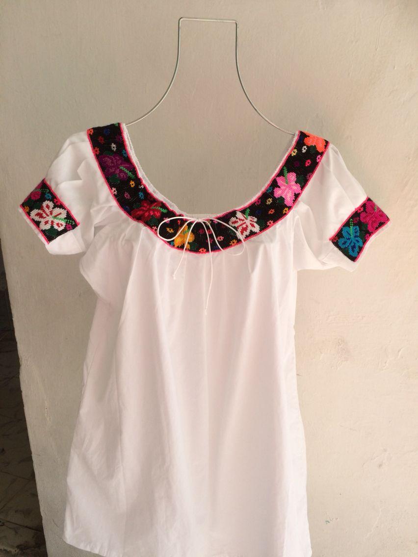 49c623fd27b Blusa típico de Tabasco Huipiles