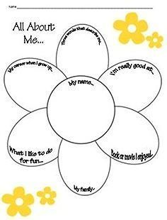 math worksheet : all about me craftivity three fun easy and ready to use  : All About Me Worksheets For Kindergarten