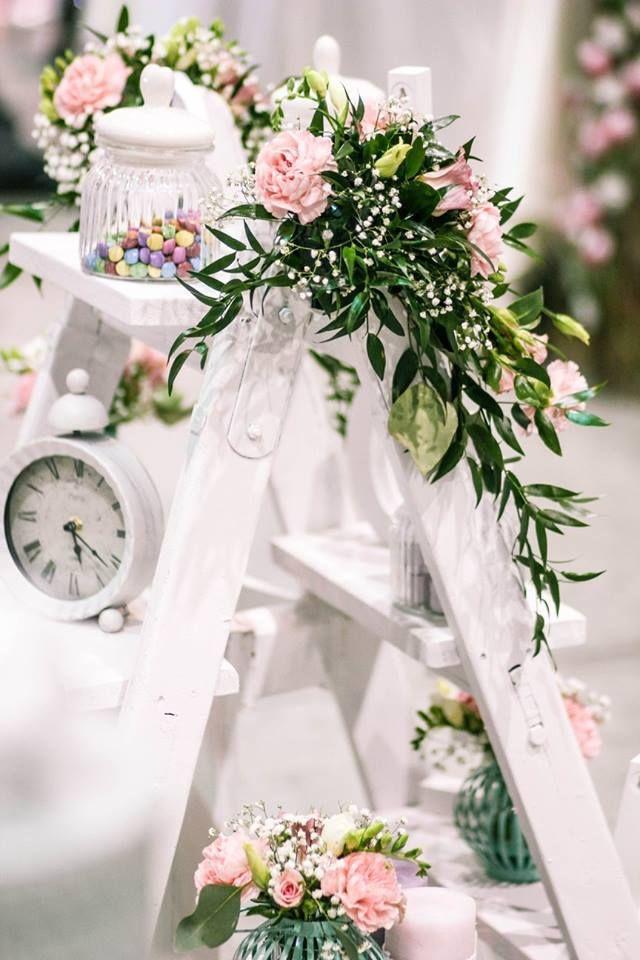 Flower Ladder By Florist Klara Uhlirova