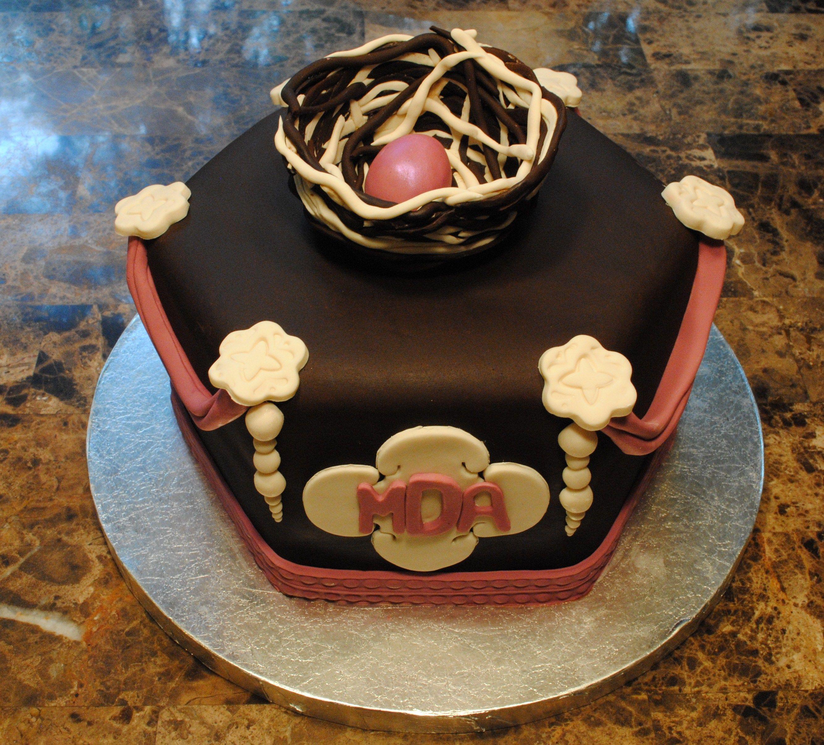 Nest Baby Shower cake