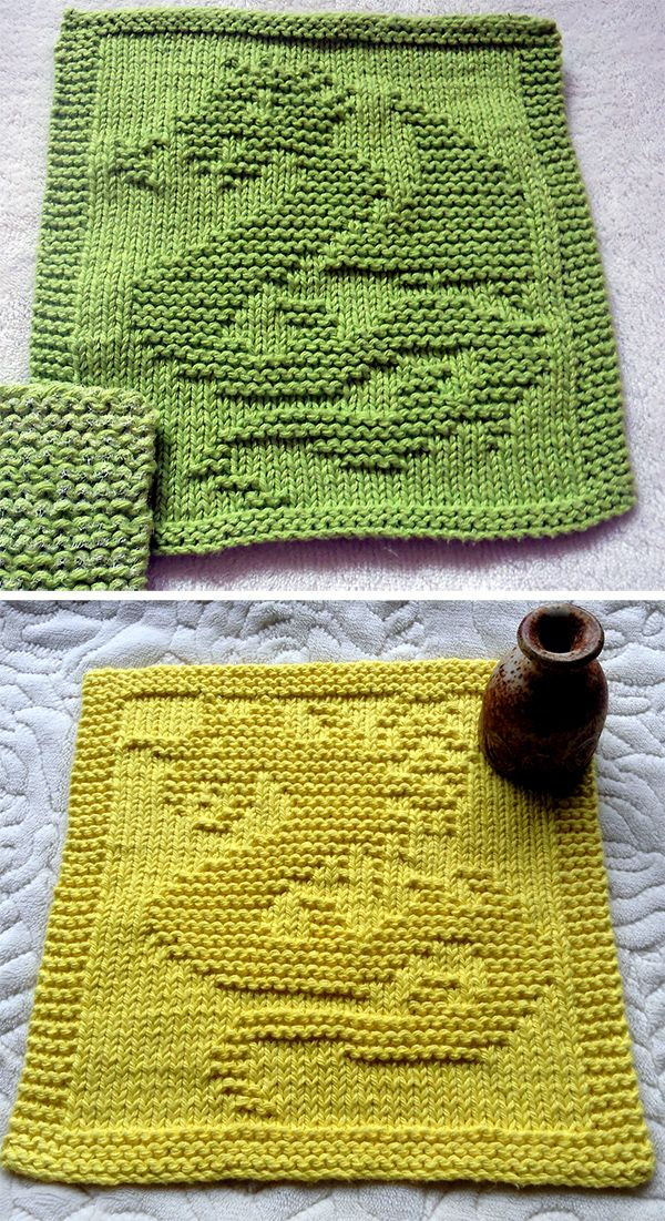 Free Knitting Pattern For Dragon And Dragon Ii Cloths 2 Designs