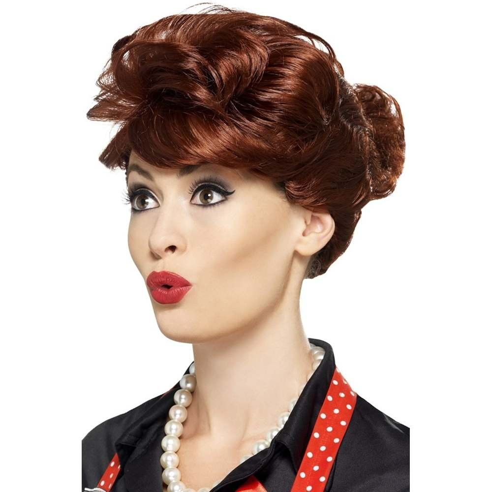 Greaser Wig Rockabilly Rock N Roll 50s Fancy Dress