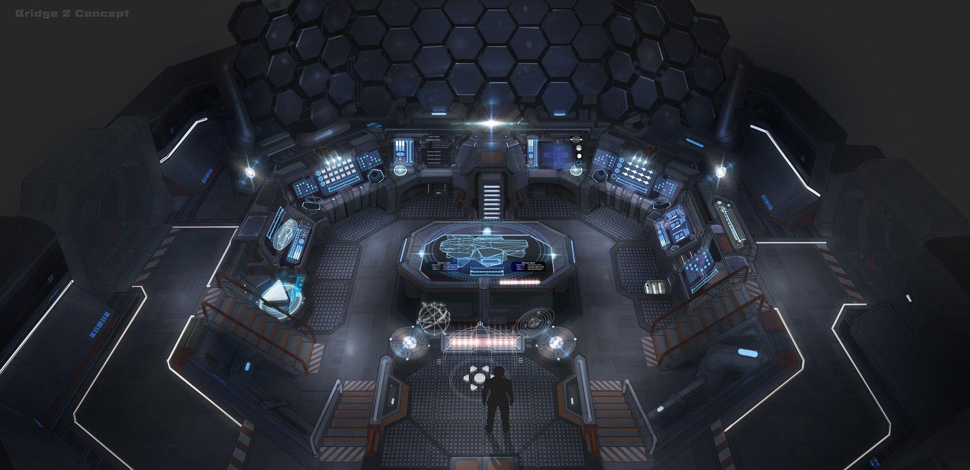 ArtStation - Bridge Concept, Garret AJ | Story: Future in 2019