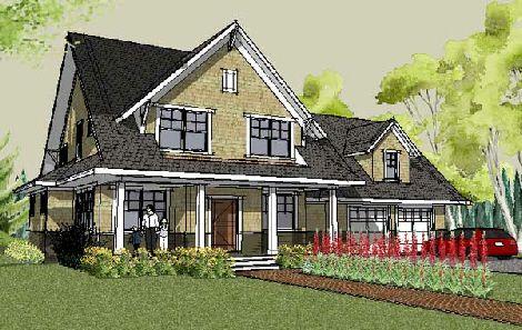 Craftsman House Plan With Open Floor Plan The Stillwater