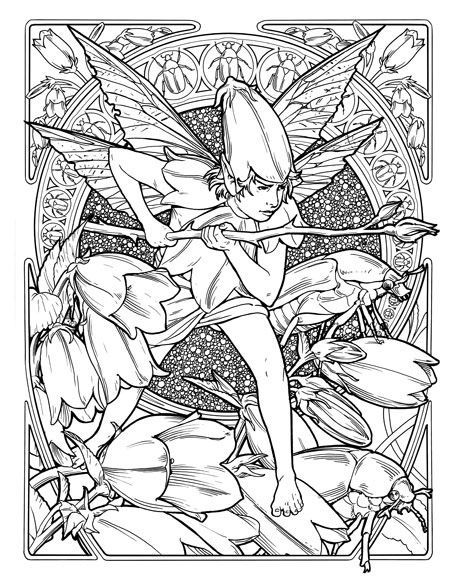 Раскраски для взрослых | Fairy coloring pages, Coloring ...