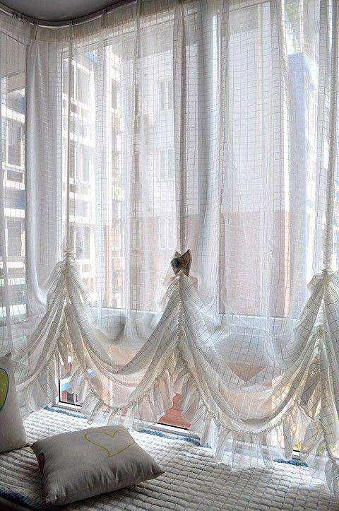 WHEEZE I JUST LOVE PRETTY CURTAINS | windows | Pinterest | Window ...