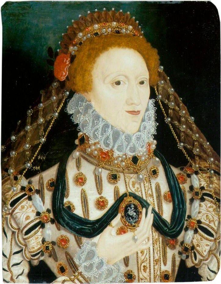 Елизавета тюдор картинка